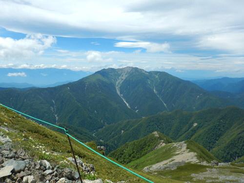 北岳5景色の良い写真